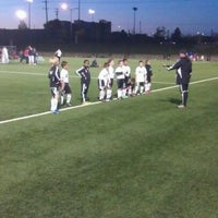 Photo taken at Overland Park Soccer Complex by Kevin M. on 9/25/2011