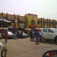 Photo taken at Madina Market by Noel D. on 1/26/2012