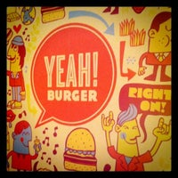 Photo taken at YEAH! Burger by Fadia K. on 1/20/2011