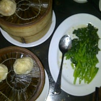 Photo taken at Nan Xiang and Shanghai Cuisine by Nadia M. on 1/2/2012