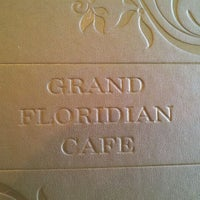 Photo taken at Grand Floridian Café by Whiskey S. on 4/7/2012
