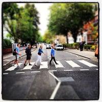 Photo taken at Abbey Road Crossing by Carlo L. on 8/4/2012