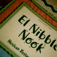 Photo taken at El Nibble Nook Restaurant by Milton S. on 11/13/2011