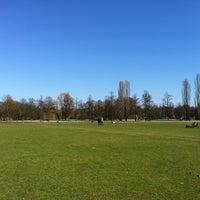 Photo taken at Englischer Garten by Marco A. on 3/17/2012