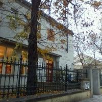 Photo taken at Městská knihovna by Zuza T. on 11/15/2011