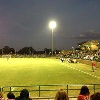 Photo taken at Corbett Soccer Stadium by Kelly F. on 11/27/2011