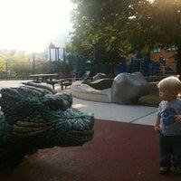 Photo taken at Skinner Park by Leo K. on 6/30/2012