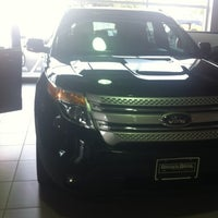 Photo taken at Brown Bros Ford Lincoln by Shannon R. on 9/8/2012