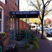 Photo taken at Soulard Coffee Garden by andy f. on 11/1/2011