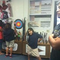Photo taken at Robin Hood Archery by Raquel D. on 8/31/2012