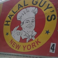 Photo taken at The Halal Guys by Jeff K. on 3/10/2012