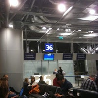 Photo taken at Gate 36 by Boris T. on 3/7/2011
