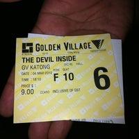 Photo taken at Golden Village by 💋Fifie Fifey💋 on 3/4/2012