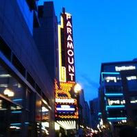 Photo taken at Paramount Center by Kenta K. on 4/21/2012