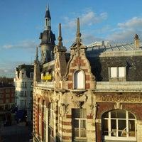 Photo taken at Le Grand Hotel de Valenciennes by Paweł T. on 4/16/2012