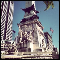Photo taken at Soldiers & Sailors Monument by Visit Indiana M. on 9/10/2012