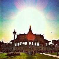 Photo taken at Royal Palace, Phnom Penh by Eduardo D. on 2/5/2012