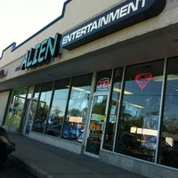 Photo taken at Alien Entertainment Store by Tracy B. on 5/10/2012