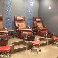 Photo taken at Nails L'mour by Dahnarae E. on 8/22/2012