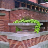 Photo taken at Frank Lloyd Wright Robie House by Jonathan S. on 8/8/2012