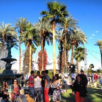 Photo taken at Coachella Main Stage VIP by Mark N. on 4/15/2012