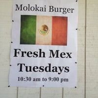 Photo taken at Molokai Burger by Ayngelina B. on 4/18/2012