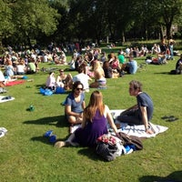 Photo taken at London Fields by Marco Tulio on 7/22/2012