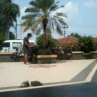 Photo taken at Alun Alun Pandeglang by Fauzan K. on 9/5/2012