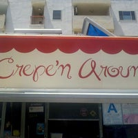 Photo taken at Crepe'n Around by Ahmad on 5/16/2012