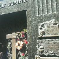 Photo taken at Mausoleo de Eva Perón by Caroline S. on 4/5/2012