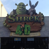 Photo taken at Shrek 4-D by Alberto C. D. on 7/3/2012