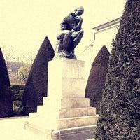 Photo taken at Jardin du Musée Rodin by Isabela S. on 4/6/2012