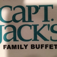 Photo taken at Capt. Jack's Family Buffet by Brian S. M. on 9/5/2012