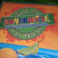 Photo taken at Kahunaville by Duncan L. on 7/9/2012