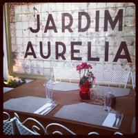Photo taken at Jardim Aurélia Restaurante e Eventos by Carolina on 7/26/2012