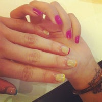 Photo taken at Bubbles Nail Spa by Lulu 8. on 5/23/2012