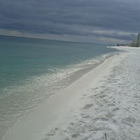 Photo taken at Destin Beach by Jon D. on 10/11/2011