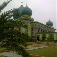 Photo taken at Masjid Agung An-Nur by iwanoski on 8/3/2012