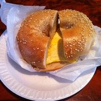 Photo taken at Bagel Bob's on York by Sandy C. on 4/9/2012