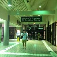 Photo taken at Salisbury-Ocean City: Wicomico Regional Airport (SBY) by Karen B. on 8/2/2011