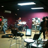 Photo taken at Audiomass by Cin P. on 2/9/2011