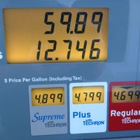 Photo taken at Chevron by Ben B. on 4/21/2012