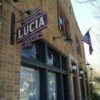 Photo taken at Lucia by Mega_Bites on 2/25/2012