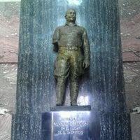 Photo taken at Monumento al General Alvaro Obregón by Luck T. on 3/25/2012