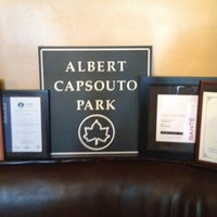 Photo taken at Capsouto Freres Bistro Restaurant by Nickey Y. on 7/22/2012