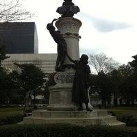 Photo taken at Lafayette Square by David M. on 1/30/2011
