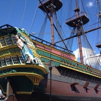 Photo taken at Het Scheepvaartmuseum by Bas H. on 8/3/2012
