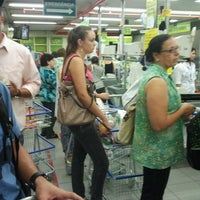 Photo taken at Carrefour Bairro by Greice L. on 4/12/2012