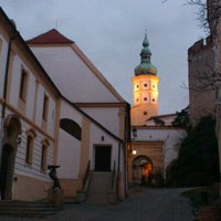 Photo taken at Zámek Mikulov by Michal K. on 1/8/2012
