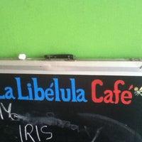 Photo taken at La Libélula Café by Alejandro on 9/13/2012